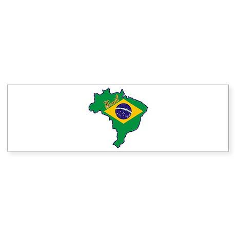 Cool Brazil Bumper Sticker