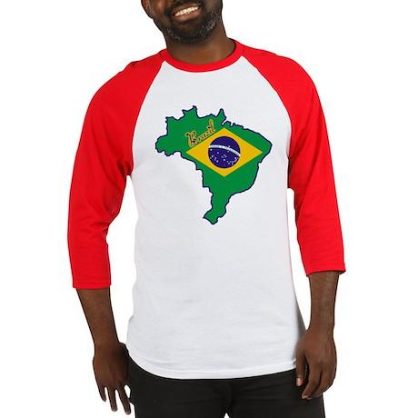 Cool Brazil Baseball Jersey
