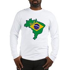 Cool Brazil Long Sleeve T-Shirt