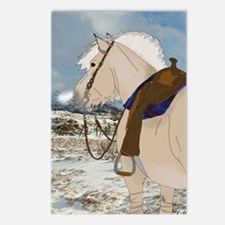 Cool Fjord horse Postcards (Package of 8)