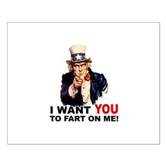 Want You to Fart On Me Posters