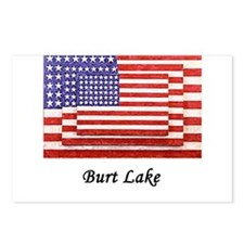 3 Flags super imposed. Looks Postcards (Package o
