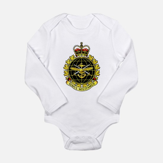 Joint Operations Comma Long Sleeve Infant Bodysuit
