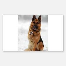 German Shepherd Decal
