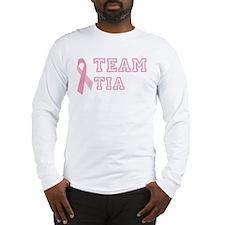 Team Tia - bc awareness Long Sleeve T-Shirt