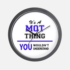 MOT thing, you wouldn't understand! Wall Clock