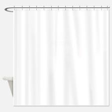 100% BUBBA Shower Curtain
