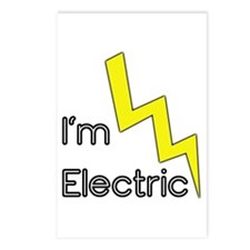 I'm Electric Postcards (Package of 8)