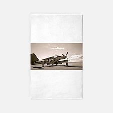 Tuskegee P-51 Area Rug