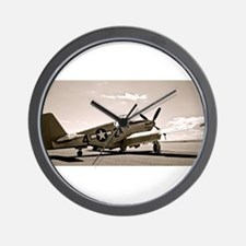 Tuskegee P-51 Wall Clock