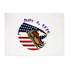 Freedom Isnt Free Throw Blanket 5'x7'area