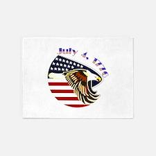 Freedom Isnt Free Throw Blanket 5'x7'area