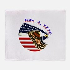 Freedom Isnt Free Throw Blanket