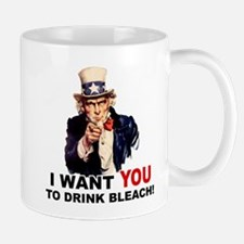 Want You To Drink Bleach Mug