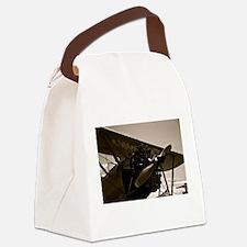 Bi Plane Canvas Lunch Bag