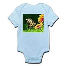 Yellow Butterfly Body Suit