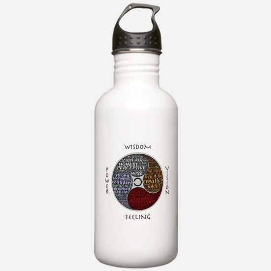 Funny Mind body spirit Water Bottle