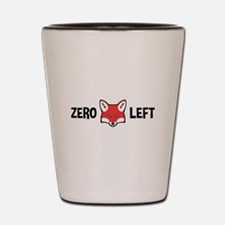 Zero Fox Left Shot Glass