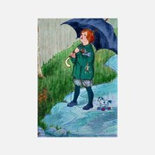 Rain,Rain, Go Away - Rectangle Magnet