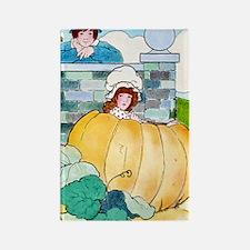 Peter,Peter, Pumpkin Eater - Rectangle Magnet