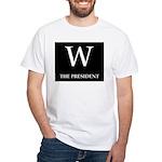 GEORGE W. BUSH White T-Shirt