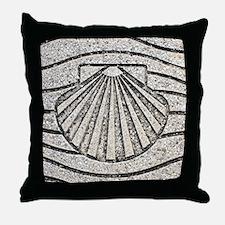 Cute Scallop shell Throw Pillow