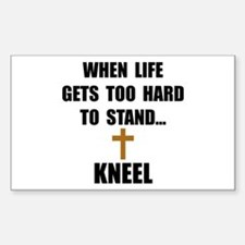 Kneel Decal