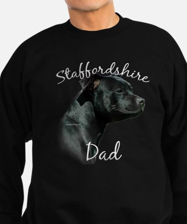 Staffy Dad2 Sweatshirt