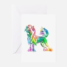 Chinese Crested Dog Greeting Cards