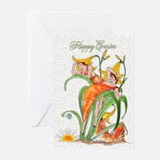 1889 Day Lilies Greeting Cards (Pk of 20)