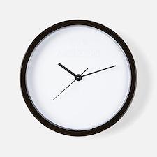 100% ASHLYN Wall Clock