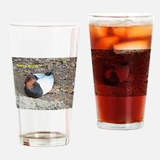 Pochard Duck Drinking Glass