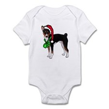 Basenji Christmas Infant Bodysuit