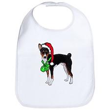 Basenji Christmas Bib
