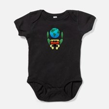 Cute Jumping Baby Bodysuit