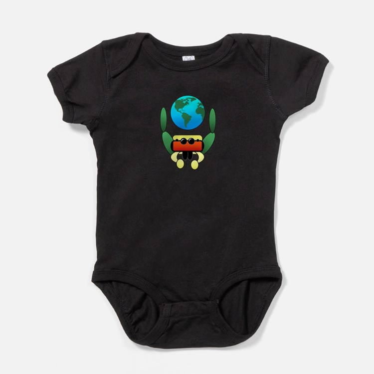 Cute Jumping spider Baby Bodysuit
