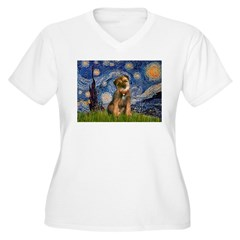 Starry Night / Border Terrier T-Shirt