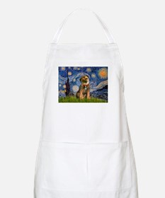 Starry Night / Border Terrier Apron