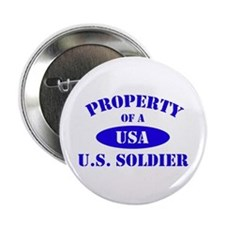 Property of a Soldier Button