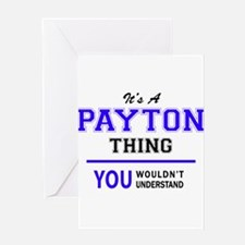 PAYTON thing, you wouldn't understa Greeting Cards