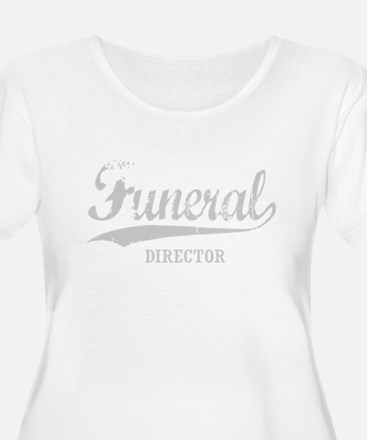Funeral Director for dark Plus Size T-Shirt