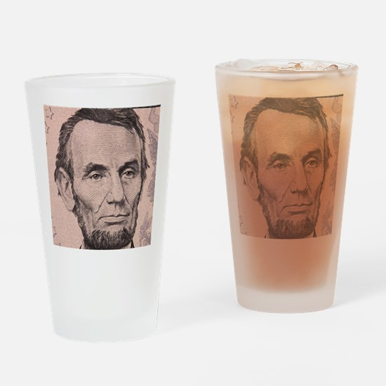 Funny Abraham lincoln assassination Drinking Glass