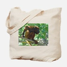Monkey Scratching His Back Tote Bag