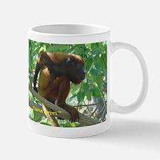 Monkey Scratching His Back Mugs