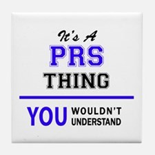 PRS thing, you wouldn't understand! Tile Coaster