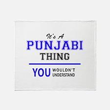 PUNJABI thing, you wouldn't understa Throw Blanket