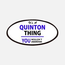 QUINTON thing, you wouldn't understand! Patch