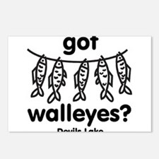 got walleyes? Postcards (Package of 8)