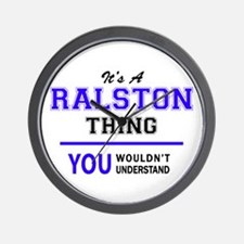 RALSTON thing, you wouldn't understand! Wall Clock