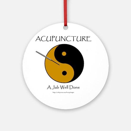 Acupuncture Ornament (Round)